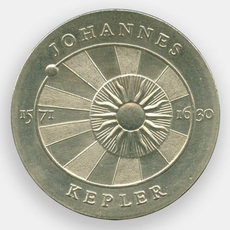 400 лет со дня рождения Иоганна Кеплера 5 марок 1971 ГДР