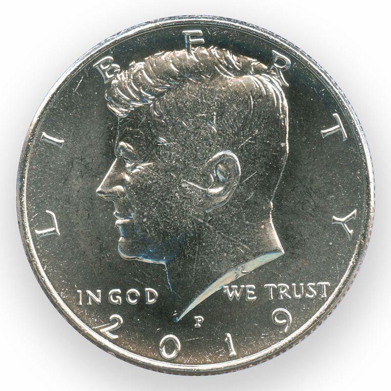Кеннеди P США 50 центов 2019