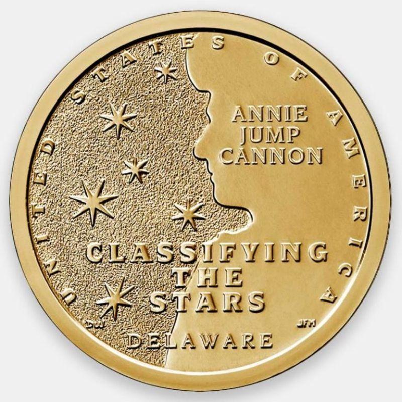 Энни Джамп Кэннон. Американские инновации 1 доллар 2019 США (D)