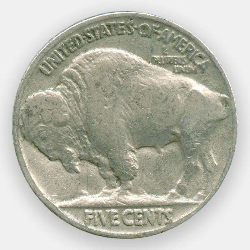 5 центов 1936 США (сост. Very Fine)