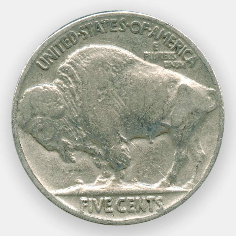 5 центов 1937 США (сост. Very Fine)